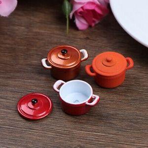 💥3/$25 NWT Mini Dollhouse Kitchen Cooking Pot